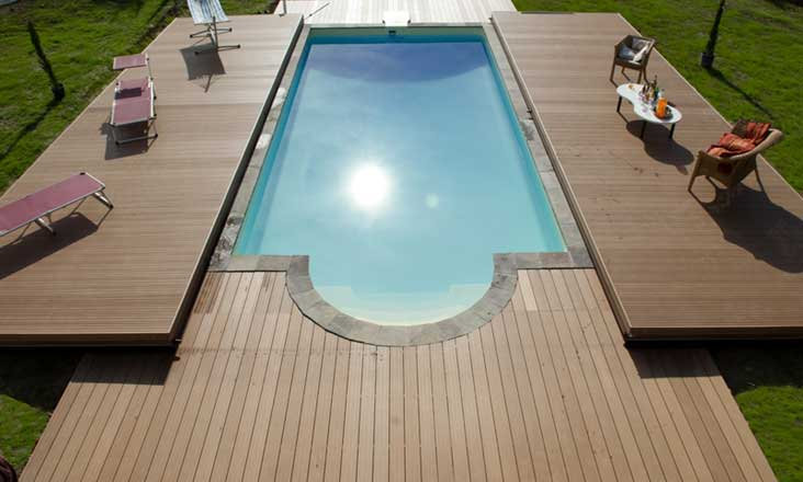Piscine terrasse mobile | Pooldeck