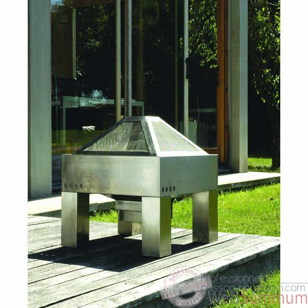 barbecue design en inox
