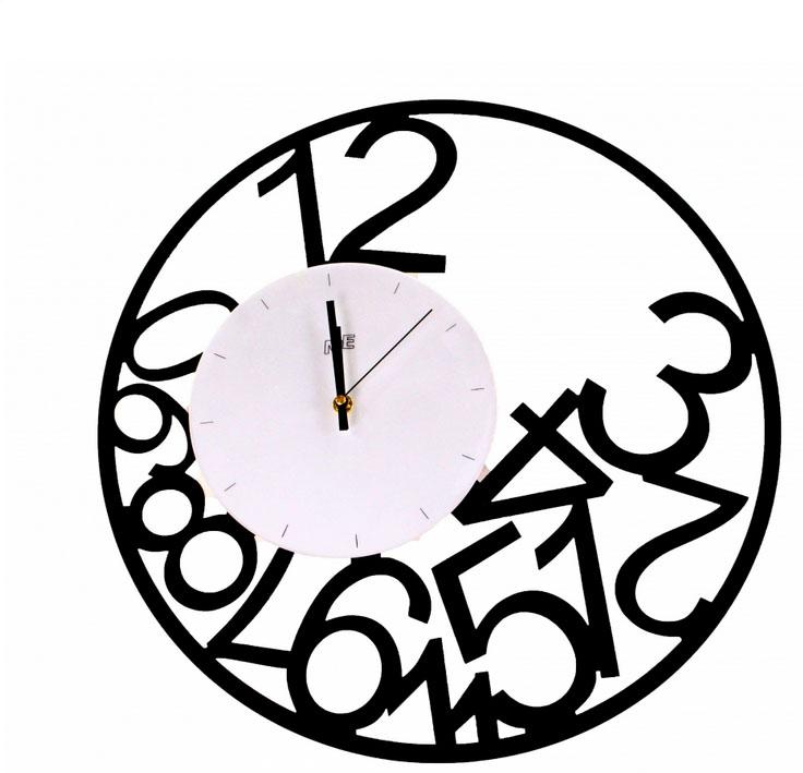 un design minimaliste pour ces horloges murales tendances blog meuble. Black Bedroom Furniture Sets. Home Design Ideas
