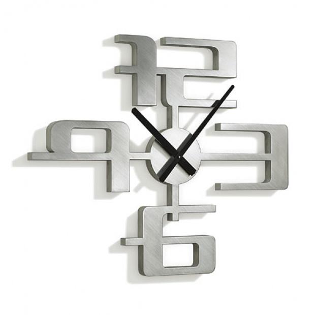 Un design minimaliste pour ces horloges murales tendances - Horloge moderne cuisine ...