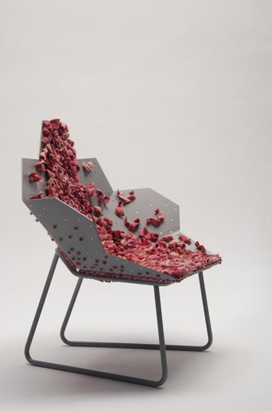 Blush Lounge chair de Sofie Brünner