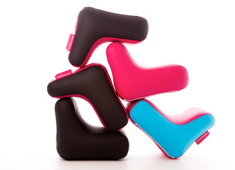 mobilier chaise gonflable et deisgn UNC