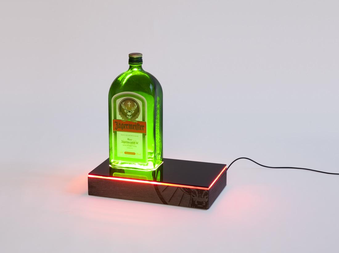 lampe design à poser jagermeister
